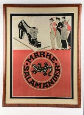 Marke Salamander Poster.
