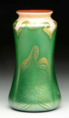 Large Kew Blas Vase.