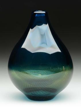 Orrefors Mid Century Modern Vase