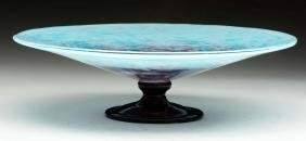 Schneider Art Glass Centerpiece.
