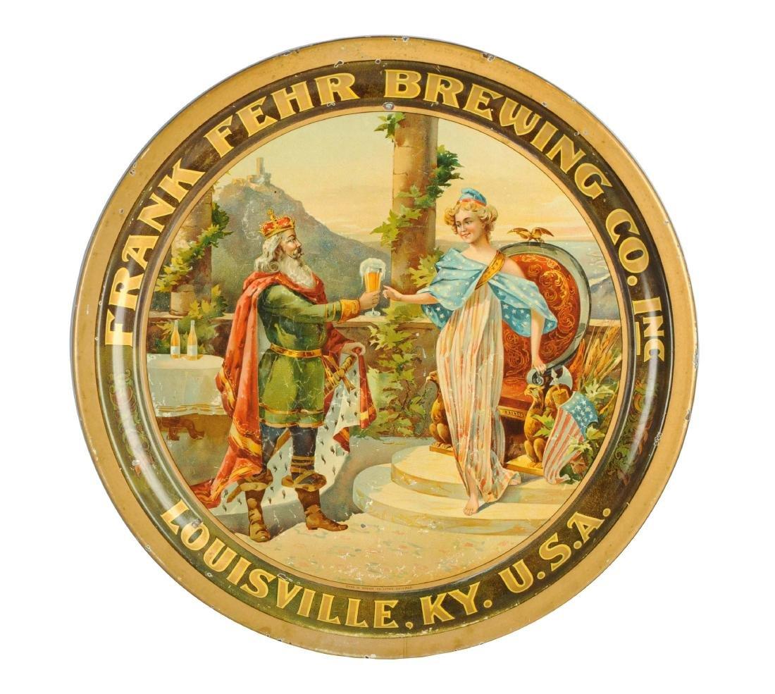 Frank Fehr Brewing Co. Serving Tray.