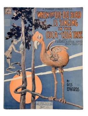 Coca - Cola When The Do - Do Bird Is Singing Sheet