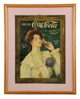 1905 Juanita Coca - Cola Paper Poster.