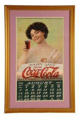 1910 Coca-Cola Calendar.