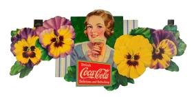 1933 Coca - Cola Pansy Festoon.