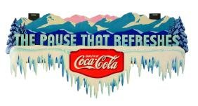 1934 Coca-Cola Icicle Festoon.