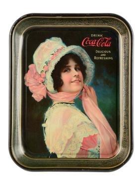 1914 Coca-Cola Serving Tray.