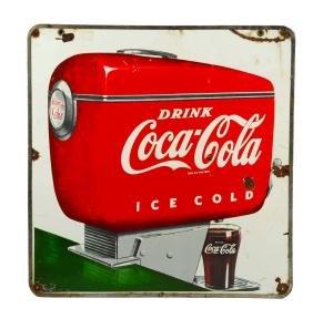 Coca-Cola Double Sided Porcelain Fountain Dispenser