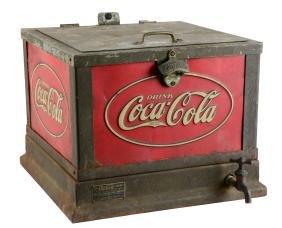 Coca - Cola Countertop Cooler.