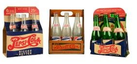 Lot Of 3: Pepsi 6-Pack Bottle Carriers.