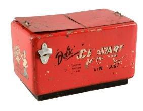 Delaware Punch Miniature Cooler.