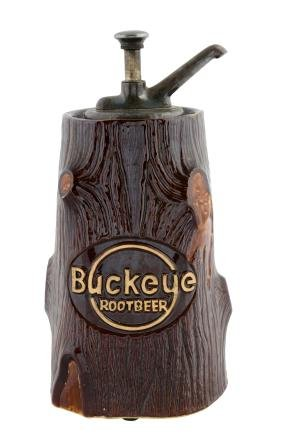 Buckeye Root Beer Syrup Dispenser.