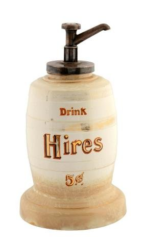 Hires Root Beer 5¢ Syrup Dispenser.