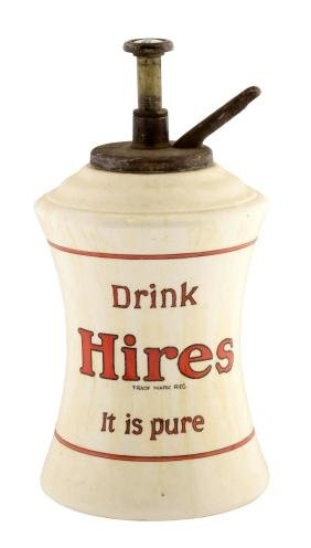 Hires Root Beer Syrup Dispenser.