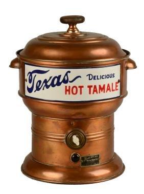 Texas Hot Tamale Dispenser.