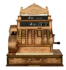 Ornate National Cash Register No. 452.