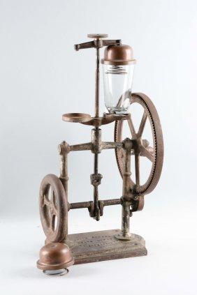 Coles Cast Iron Soda Fountain Milk Shaker.