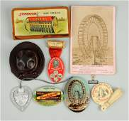 Lot Of 9: Agriculture Advertising Related Pieces.