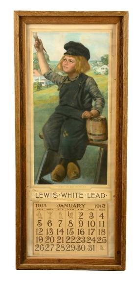 1913 Dutch Boy Paints Advertising Calendar.