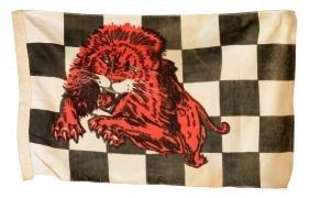 Gilmore Leaping Lion Cloth Horizontal Racing Flag.