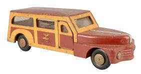 """Pressed Steel Buddy """"L"""" Woody Wagon."""