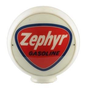 """Zephyr Gasoline 13-1/2"""" Globe Lenses."""