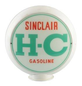 """Sinclair H-C Gasoline 13-1/2"""" Globe Lenses."""
