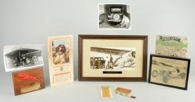 Lot Of 10: Gilmore Oil Co. Related Photographs & Paper