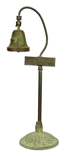 El Camino Real Ornamental Desk Bell.