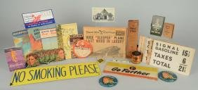 Lot Of Signal & Richfield Items.