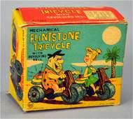 Marx Fred Flintstone Wind-up Tricycle