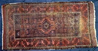 Turkoman Oriental Rug 73 x 37