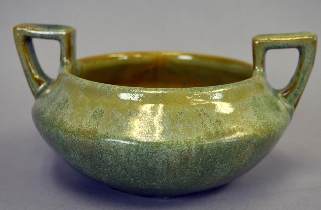 Fulper Pottery 2 Handled Bowl
