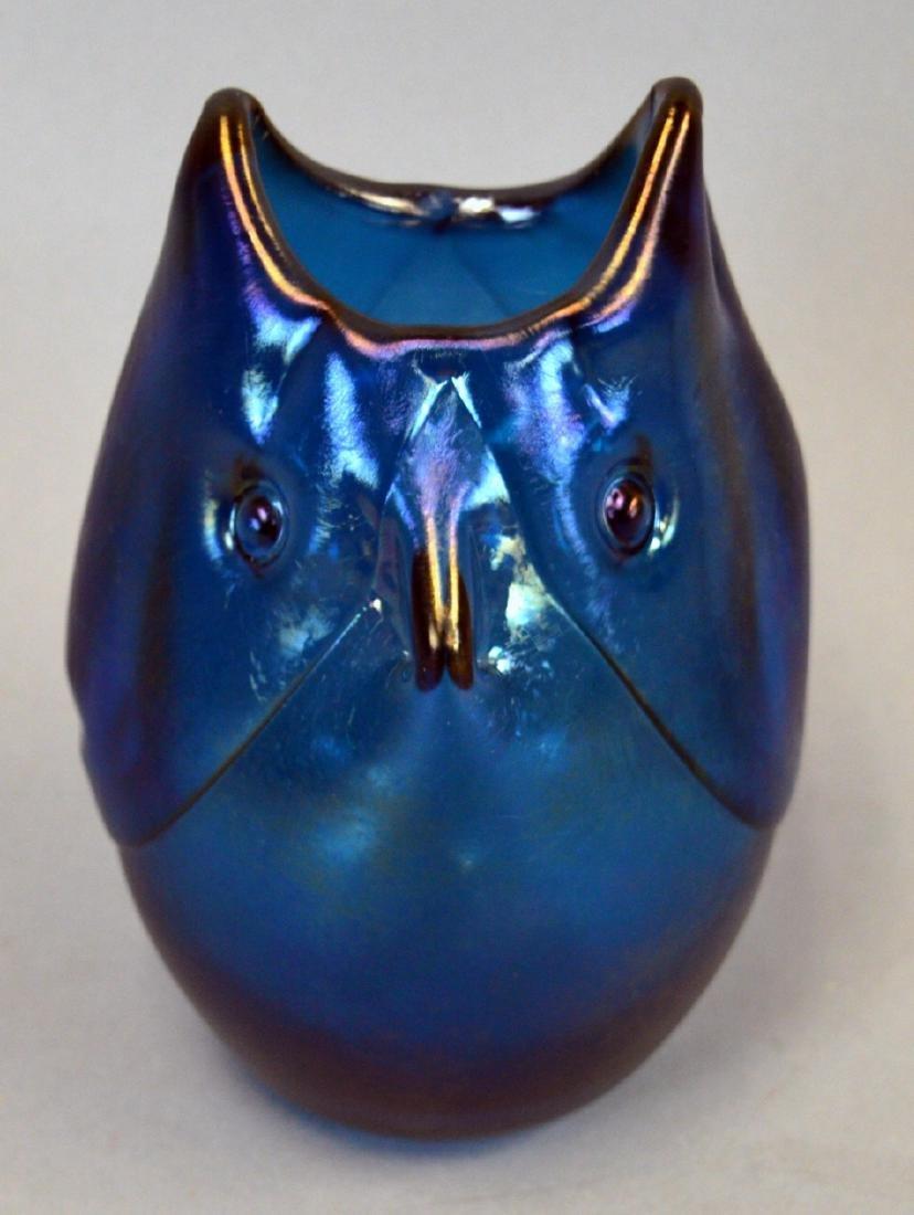 1968 Dominick Labino Art Glass Owl