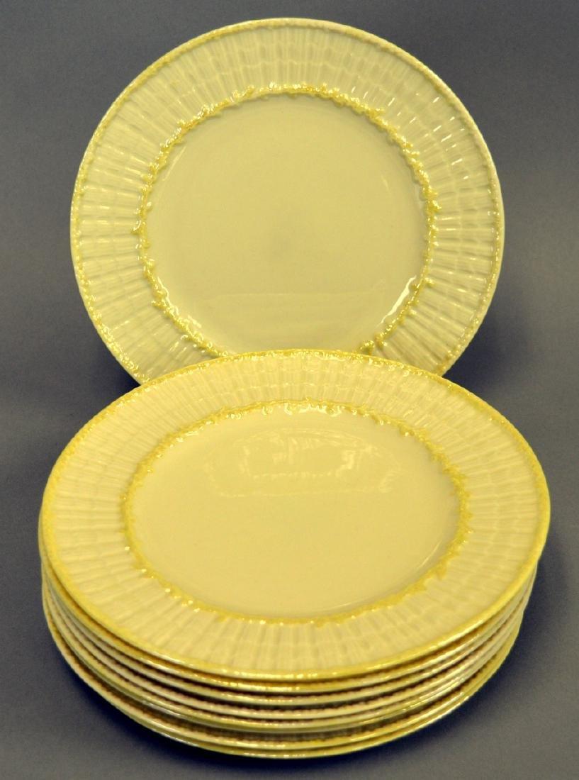 Irish Belleek Limpet Salad Plates
