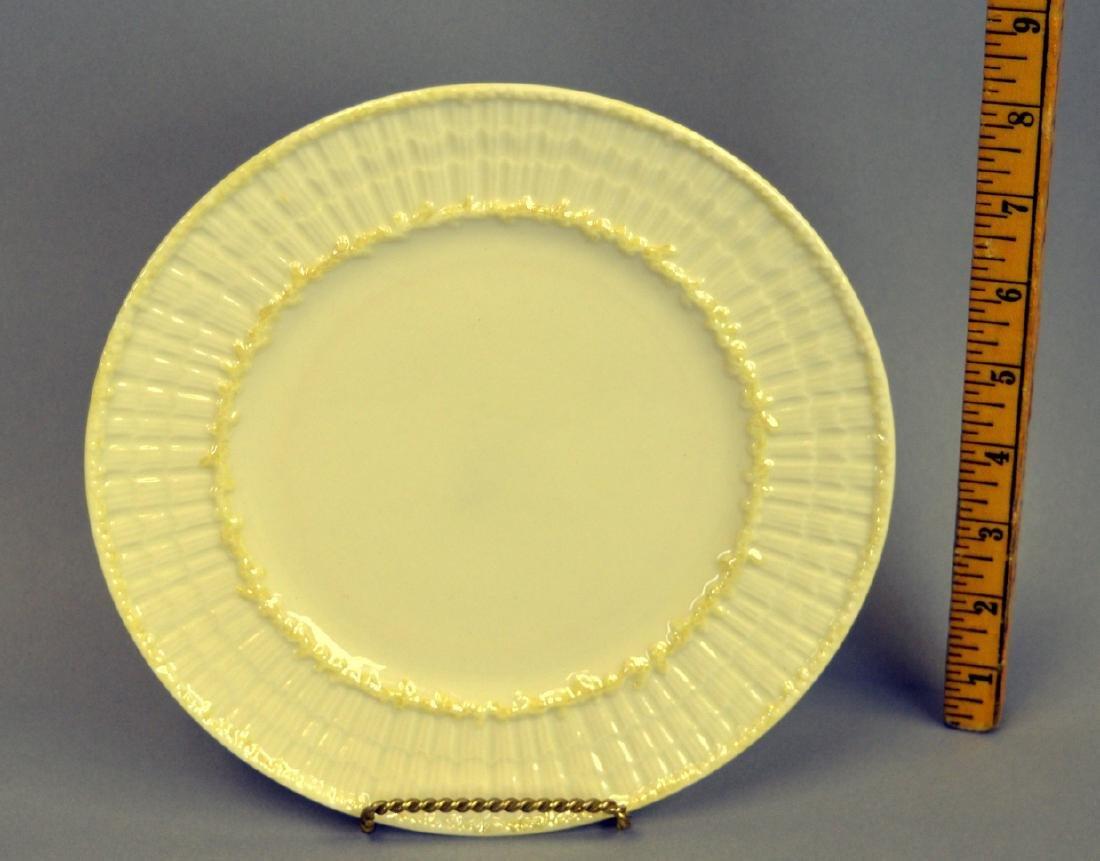 Irish Belleek Limpet Salad Plates - 2