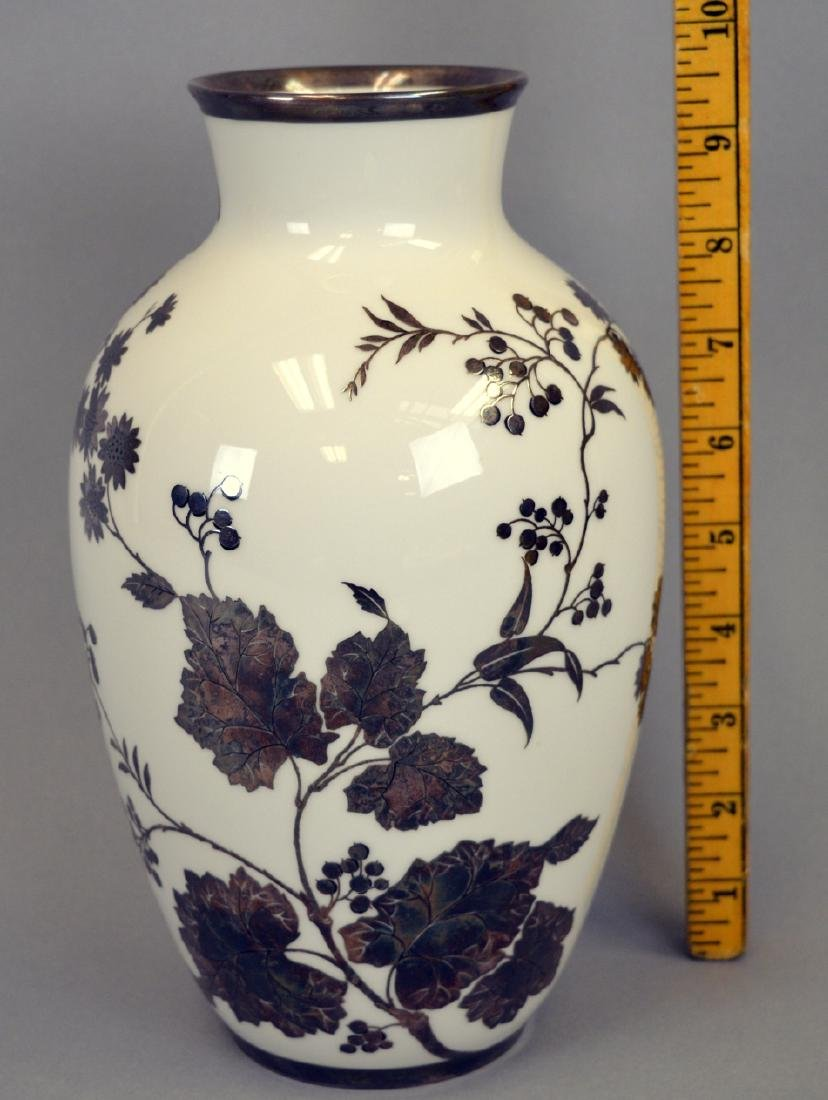 Rosenthal Silver Overlay Vase - 2