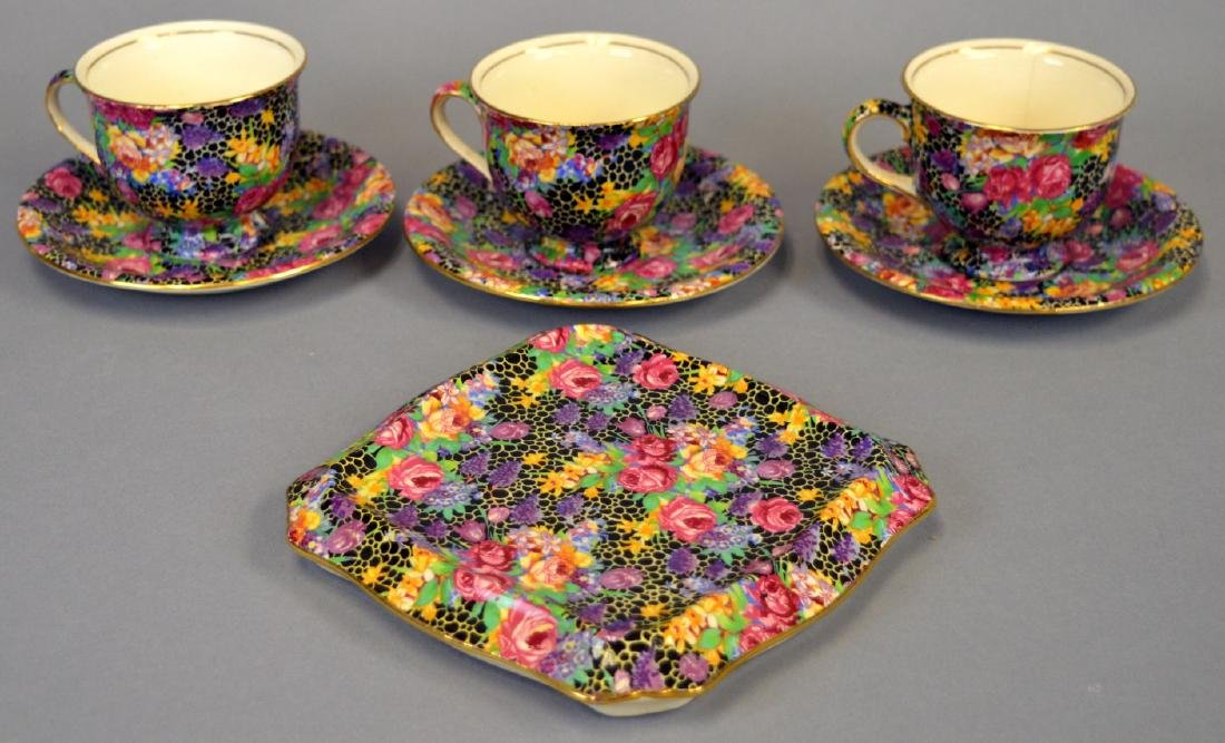 "Royal Winton Chintz ""Hazel"" Tea Tile"