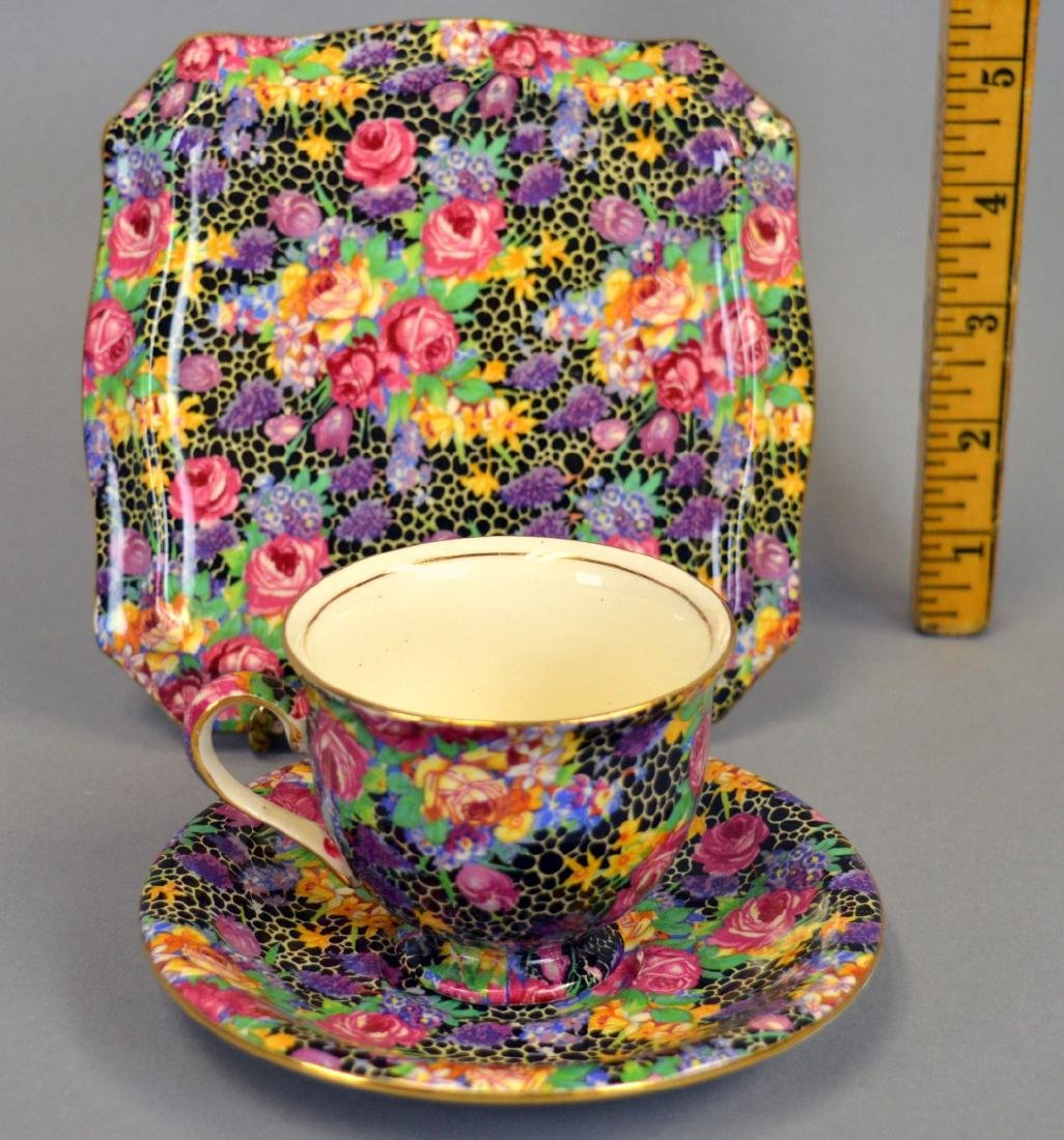 "Royal Winton Chintz ""Hazel"" Tea Tile - 3"