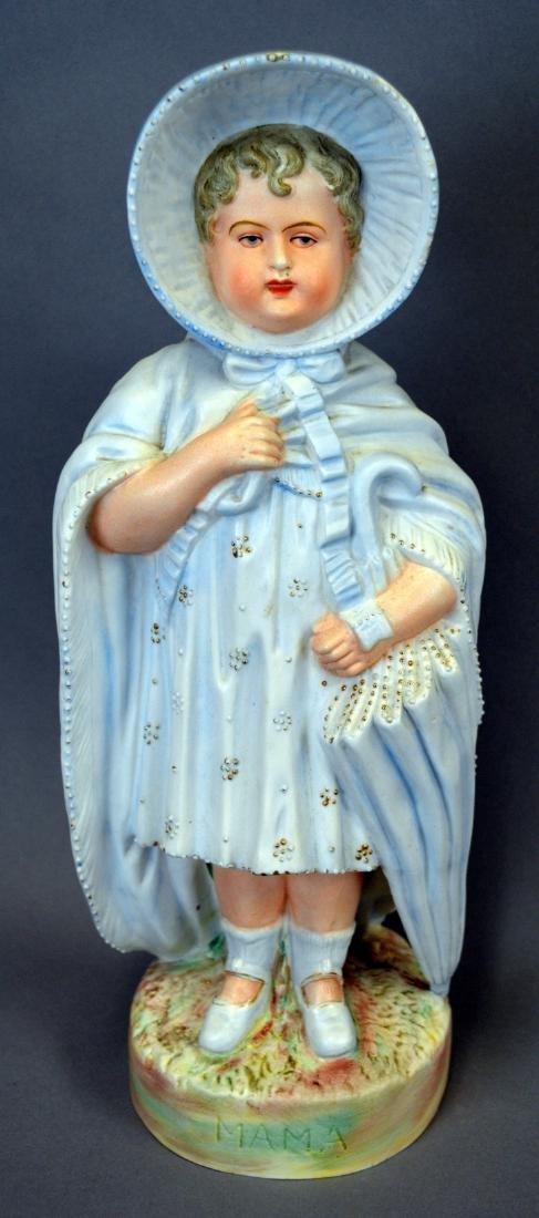 "Large Royal Rudolstadt ""Mama"" Bisque Figurine"