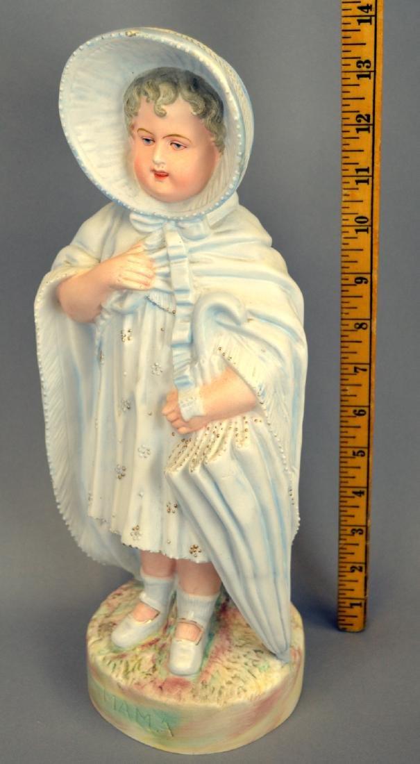 "Large Royal Rudolstadt ""Mama"" Bisque Figurine - 2"