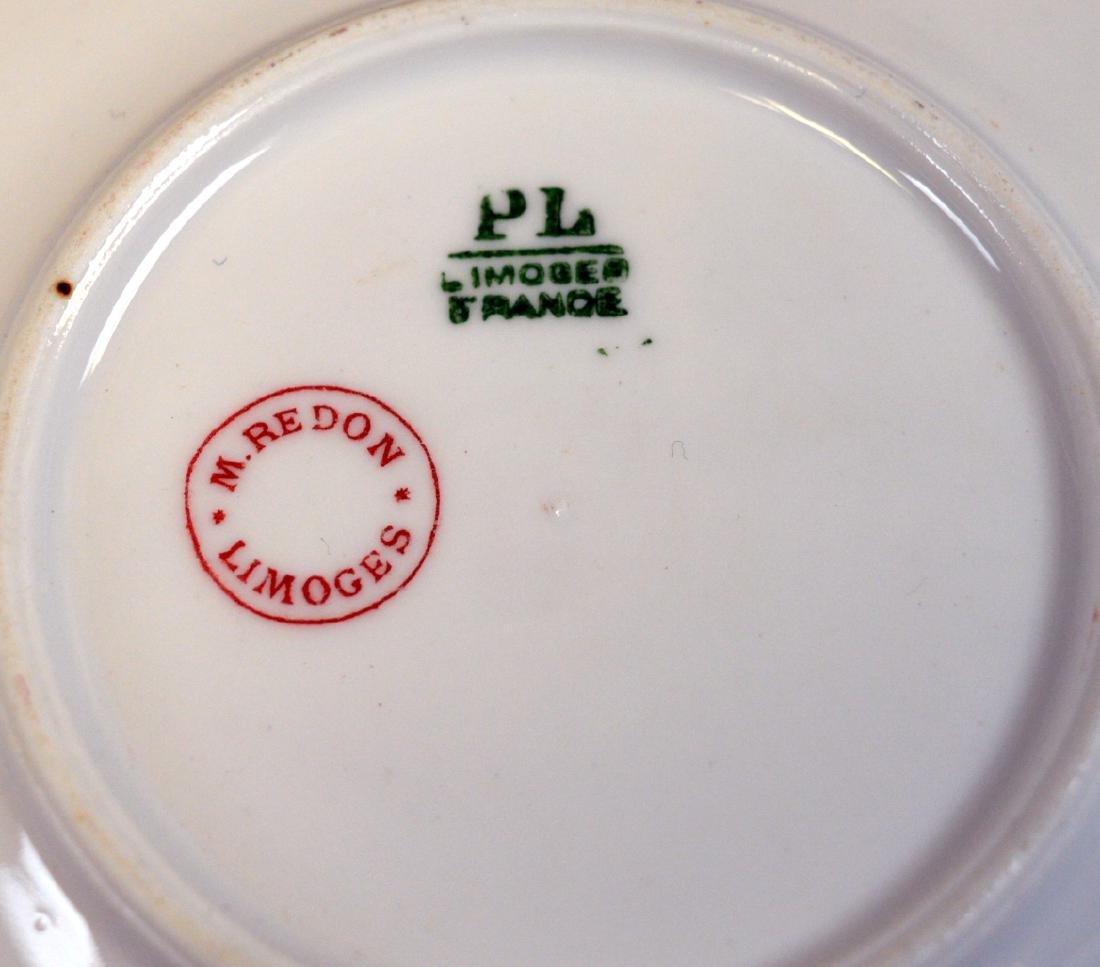 10 Redon Limoges Ramekins and Underplates - 3