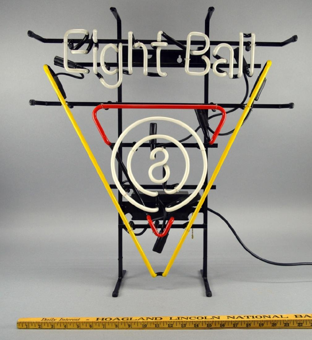 Neon Billiards 8 Ball Light - 2