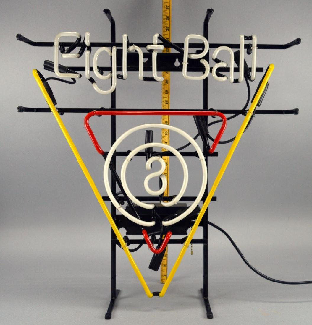 Neon Billiards 8 Ball Light - 3