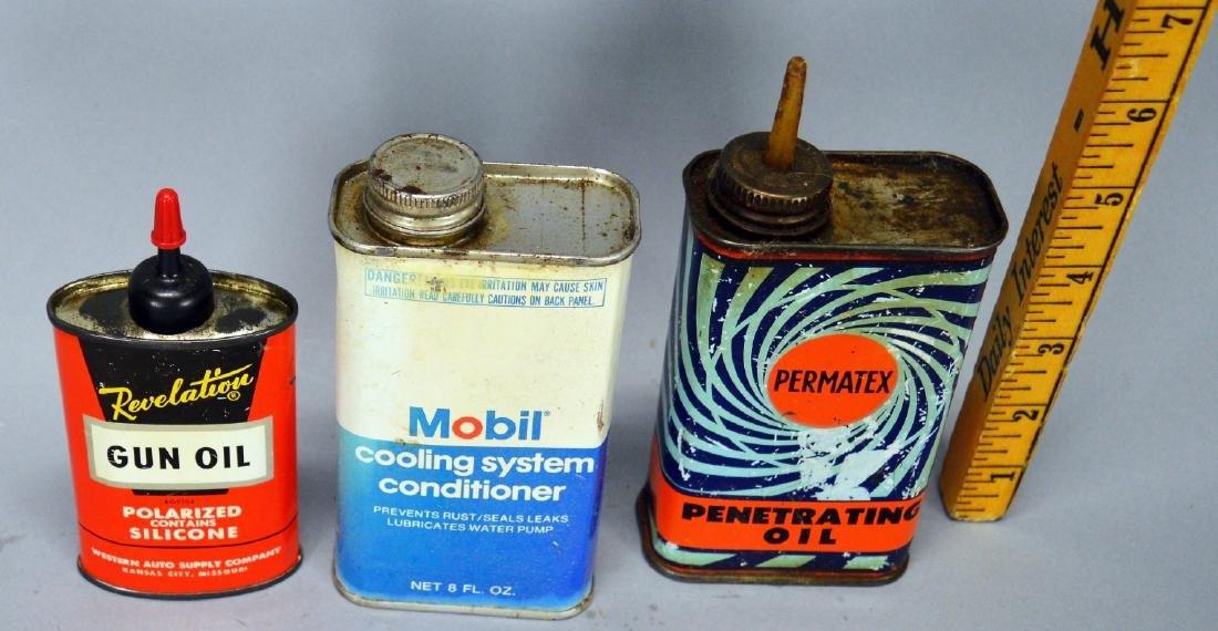 Revelation Gun Oil Can, Mobil, Permatex