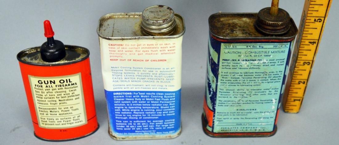 Revelation Gun Oil Can, Mobil, Permatex - 2