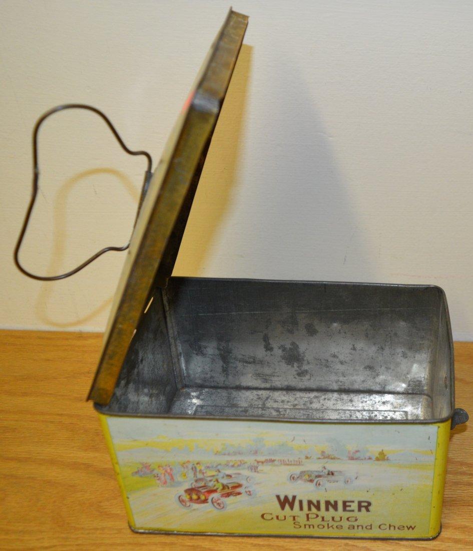 Winner Cut Plug Smoke and Chew tobacco tin - 3