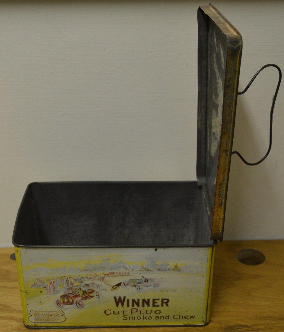 Winner Cut Plug Smoke and Chew tobacco tin - 5