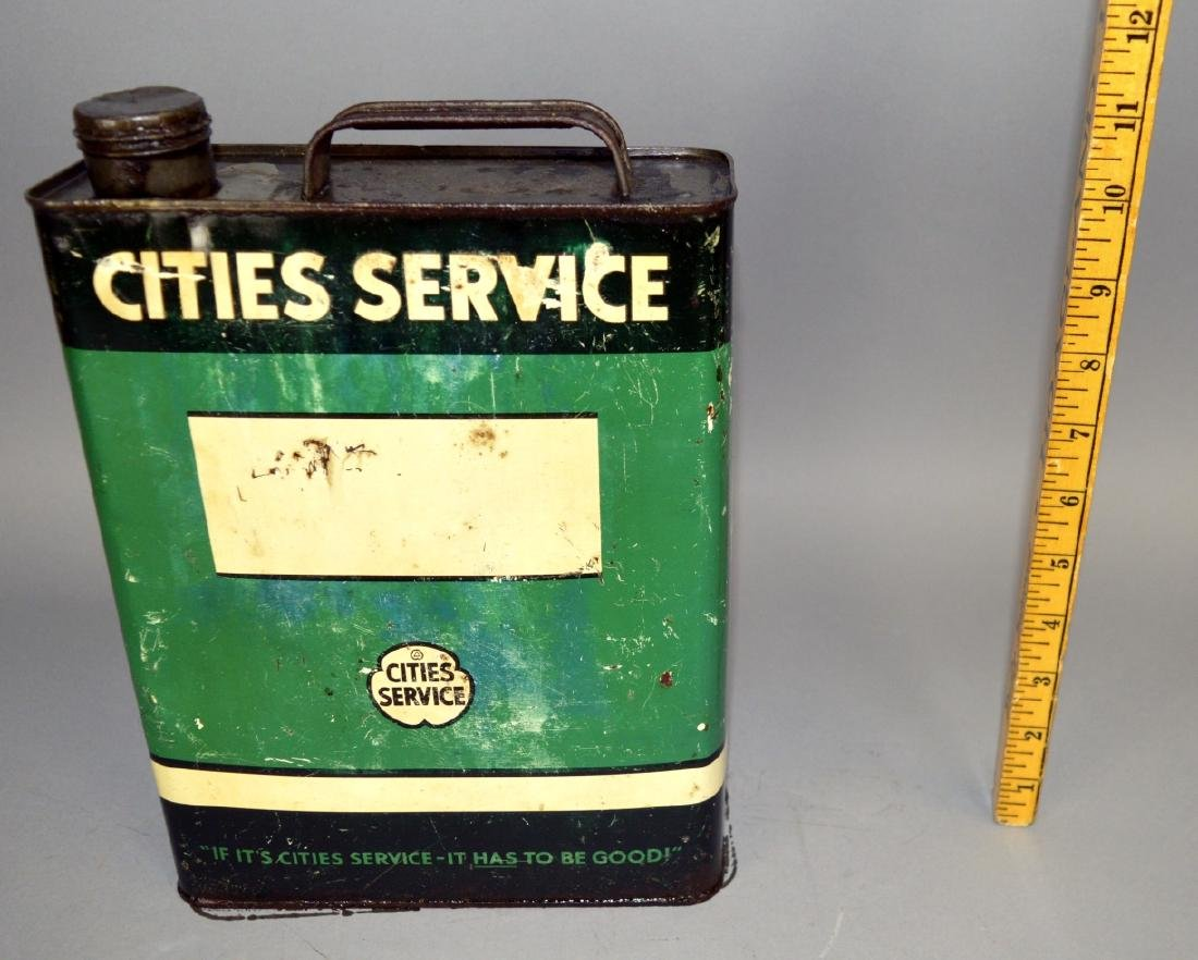 Cities Service Oil Can