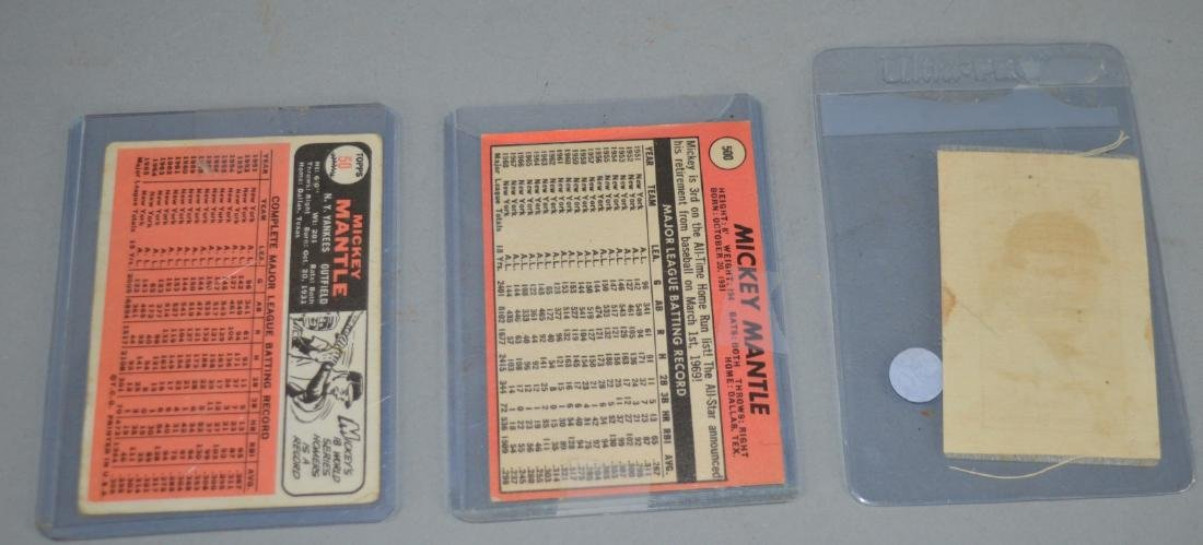 Mickey Mantle Card and McGraw baseball cards - 2